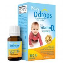 美国Baby Ddrops 婴儿补钙维生素D3滴剂 2.5ml