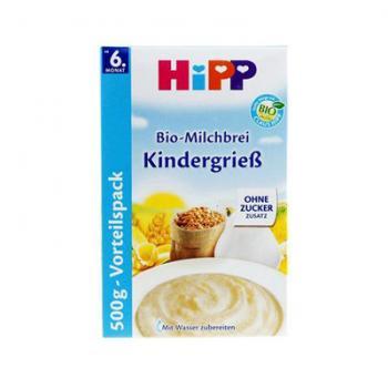 德国喜宝有机牛奶小麦高钙米粉6M+ 500g