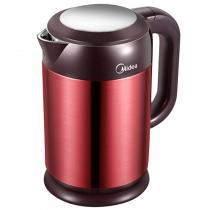 美的(Midea)电热水壶烧水壶热水壶电水壶1.7L大容量304不锈钢HJ1708a