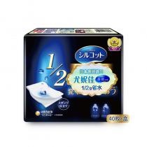 Unicharm尤妮佳1/2型省水化妆棉 40片*2